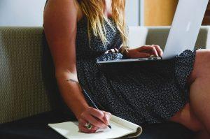 Kobieta freelancer